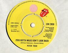 "Peter Tosh - Don't Look Back 7"" Single 1978"