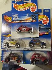 Hot Wheels Lot of (5) Baja Bug types! All Different Lot #12