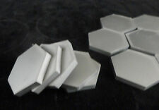 SINTERED ALPHA SILICON CARBIDE CERAMIC HEXAGONAL WIRELESS HEATER TILE No.: 60