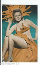 1940's Mutoscope / Arcare  Pin Up Card Earl Carroll Girl In Scant Costume