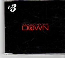 (FM438) US3, You Can't Hold Me Down - 2001 DJ CD