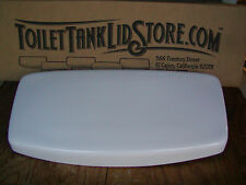 Unknown Toilet Tank Lid, possibly Vortens, 1092 White 18C