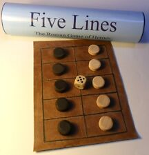 Five Lines/Pente Grammai/Game of Heroes Ancient Greek/Roman historic board game