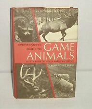 Sportsman's Guide to GAME ANIMALS by Leonard Lee Rue III , Hardcover Book