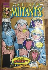 The New Mutants #87 March 1990 First Cable