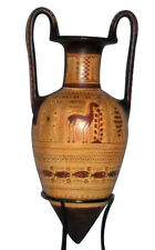 Ancient Greek Pointed Amphora Vase Museum Replica Reproduction