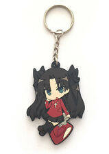 Fate Stay Night PVC Strap Keychain Charm ~ Rin Tohsaka Casual FSN02