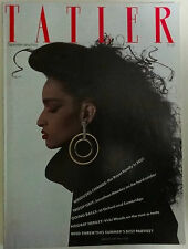 TATLER Magazine Volume 279 Number 8 Farida by Jean-Paul Goude cover