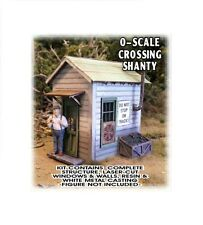 Bar Mills Crossing Shanty Laser-Cut Wood Structure Kit #794 O Scale NEW