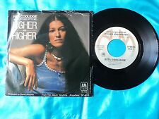 "RITA COOLIDGE Higher And Higher 7"" B/w Who's To Bless And Who's To Blame ~ EX+"