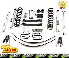 "1984-2001 Jeep Cherokee XJ 4.5"" Full Suspension Lift Kit Zone Offroad J8 J9"