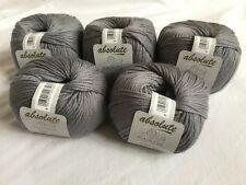 Madil Absolute - 5 balls - color 385 gray - Super wool/Cashmere, soft