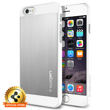 [Spigen Factory Outlet] iPhone 6 / 6S Case Aluminum Fit Satin Silver
