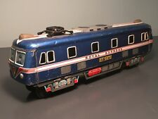 "VINTAGE DAIYA JAPANESE TIN LITHO ROYAL EXPRESS EF-5870 13"" FRICTION EMU TRAIN!"