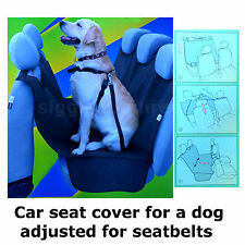 Car Safe Rear Back Seat Cover Dog Cat Pet seat Protector Hammock Mat Liner Alex