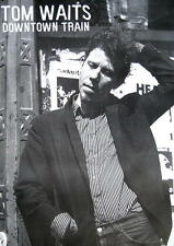 "TOM WAITS POSTER ""DOWNTOWN TRAIN"""