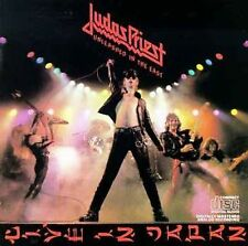 JUDAS PRIEST Unleashed In The East: LIVE IN JAPAN CD CBS/Columbia CK 36179  *VG*