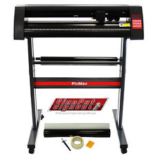"VINILE Cutter plotter 720mm PixMax 28 ""TAGLIO SignCut Pro software e kit di sfoltimento"