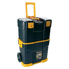 Mobile Tool Case with Wheels Large Toolbox Trolley Cart Box Power Tool Storage