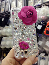 Glitter Luxury Bling Diamonds Crystal hard Back Phone Case Cover For HTC #2