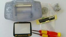 HOUSING POUR GAMEBOY ADVANCE PIKACHU CLEAR BLUE NEW