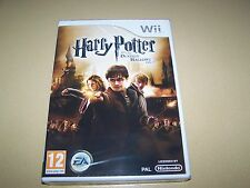 Harry Potter and the Deathly Hallows-Parte 2 (Nintendo Wii, 2011) ** nuevo Y Mar