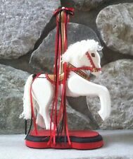 Wooden Carousel  Horse with Movable Front Legs