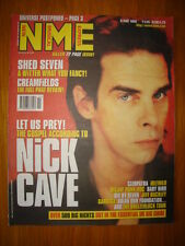 NME 1998 MAY 9 NICK CAVE SHED 7 GARBAGE JEFF BUCKLEY