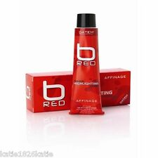 AFFINAGE B RED COLOUR HIGHLIGHTING CREME 100ml  DATEM TECHNOLOGY RED