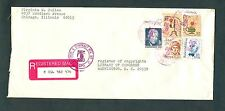 #1610 #1611 #1859 #1856 #1393 Americana & Great Americans Combo Registered Mail
