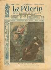 Extase de Saint-François d'Assise de Bartolomé Esteban Murillo 1917 ILLUSTRATION