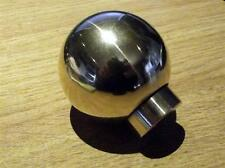 Gearknob, Mazda MX-5, ball, heavyweight polished brass MX5 gear knob, hand made