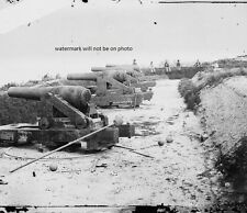"Confederate Water Battery Magruder Cannon Yorktown 8""x 10"" Civil War Photo 105"