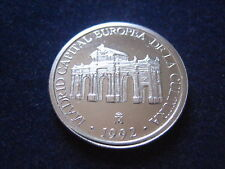 """MDS SPANIEN 1 ECU 1992 """"TOR IN MADRID"""", SILBER  #15"""