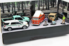 Campsite Cruisers United States Forrest Service Set 1:64 Greenlight