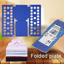 Magic Flip Fold Folding Board Adult Clothes Folder Shirt Pant Laundry Organizer