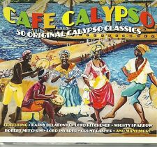 CAFE CALYPSO 50 ORIGINAL CALYPSO CLASSICS FEATURING HARRY BELAFONTE & MANY MORE