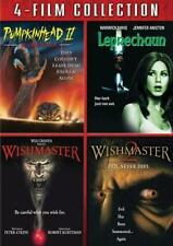 PUMPKINHEAD 2*LEPRECHAUN*WISHMASTER 1,2 [One,Two] Cult Horror R1 DVD Set *NEW*