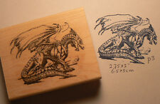 P3   Dragon rubber stamp WM