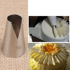 Stainless Steel Silvery Cake Decorating Icing Tools Nozzles For Birthday's Cakes