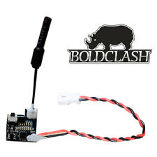 Boldclash F-01 5.8GHz 48CH Super Tiny Light AIO TX FPV Multicopter Camera
