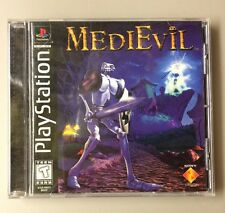 PS1 Sony PlayStation MediEvil Complete Game  Great Condition Tested Works 1998