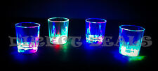 12 PCS LED LIGHT UP DRINK SHOT GLASSES ACRYLIC CUP BARWARE COLA BEER PARTY GLASS