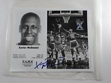 Xavier McDaniel Autographed Signed Photo Card Celtics Knicks Supersonics Seattle