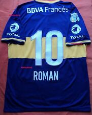 ROMAN BOCA JUNIORS 2013-14 HOME SHIRT PLAYER VERSION Size L