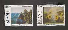 Iceland #816-817 VF MNH - 1996 100k To 200k Paintings - SCV $11.75
