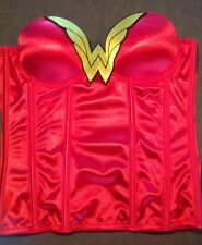 WONDER WOMAN CORSET TOP COSTUME Small S