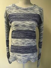 Next Women Jumper Blue Mix Size 10 (1)