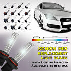 Two XENON HID Replacement light bulbs H1 H3 H4 H7 H11 H13 9005 9006 9004 9007