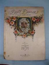 The Doll Dance What A Peculiar Tune Sheet Music Vintage 1927 Doris Eaton Brown O